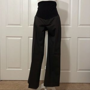 A Pea in the Pod Boot Cut Maternity Dress Pants L